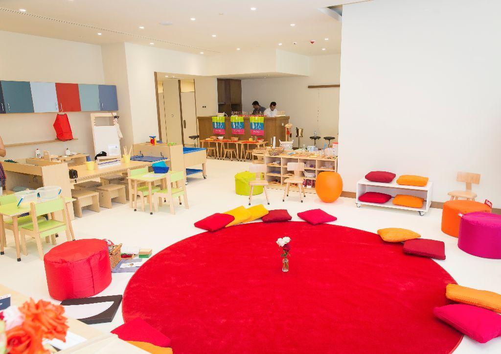 Galerie Raumgestaltung Montessori Labor Berlin